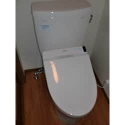 "TOTOの<a href=""https://www.homepro.jp/yougo/aa/yogo_aa_065.html"" class=""replaced_keyword_link"" target=""_blank"">温水洗浄便座</a>を設置しました。<br />"