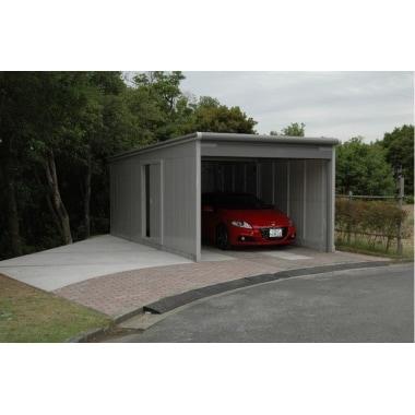 車購入を機にガレージを追加しました。