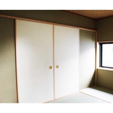 間取り変更に伴い収納力アップ、すっきりしたお部屋に