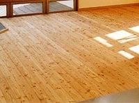 オイル塗装の床