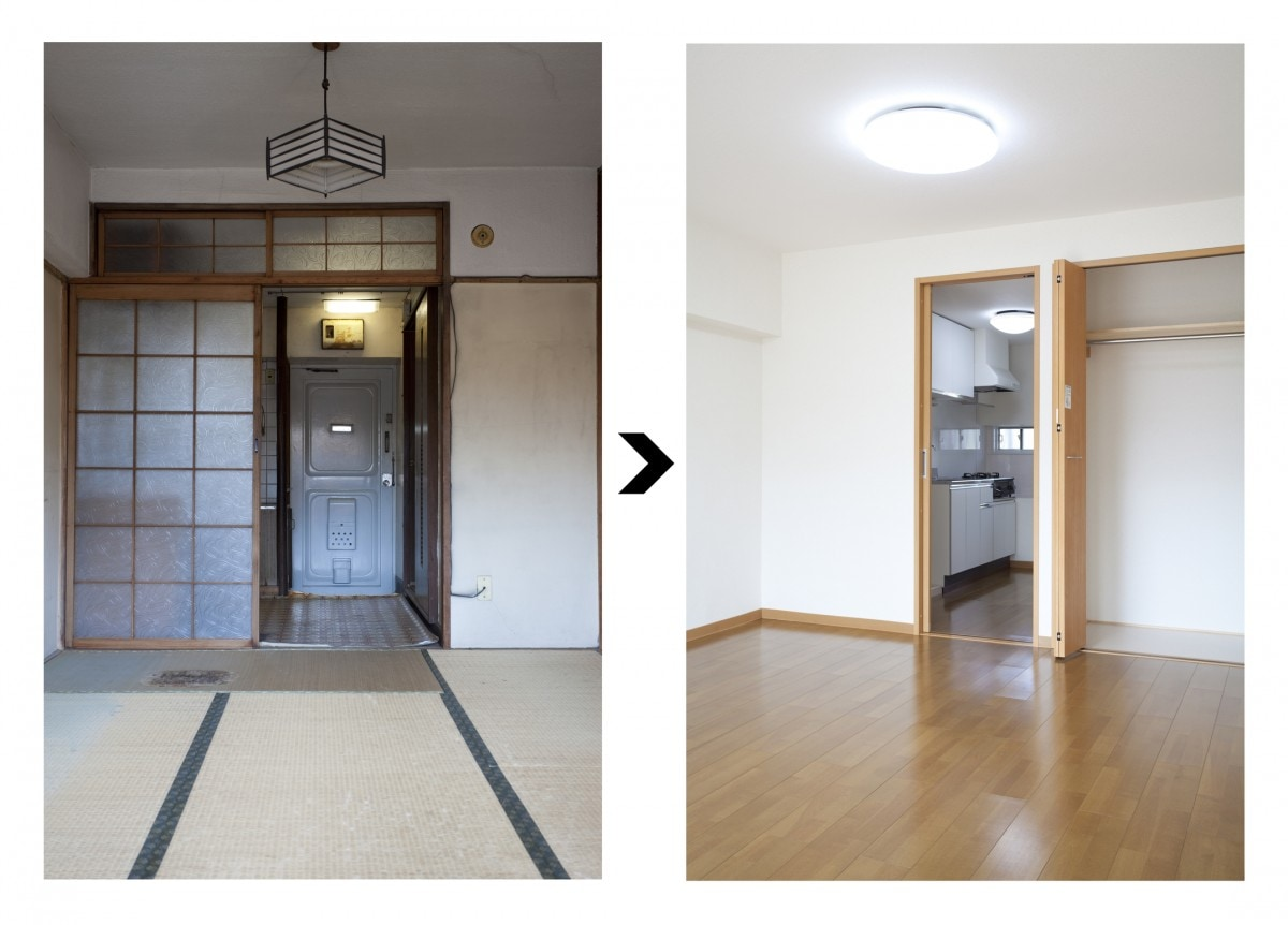 襖 ふすま を引き戸やドアにするには 和室を洋室にリフォームする費用やdiyを紹介 リフォーム会社紹介サイト ホームプロ